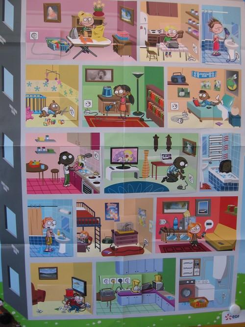 Les l ves de cycle 3 animation autour de l lectricit for Les dangers de l electricite